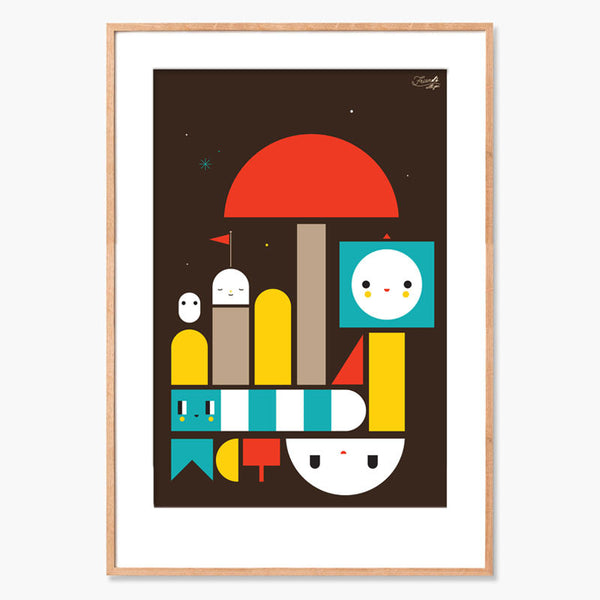 FriendsWithYou Dream Boat Archival Print