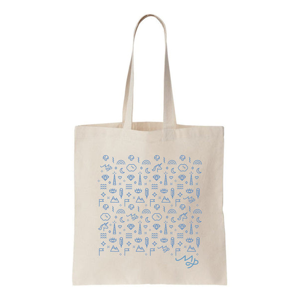 Everyday Magic Tote Bag (Blue)
