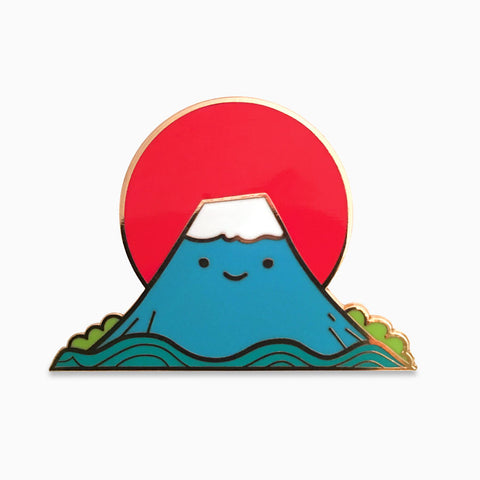 We Love Mount Fuji Lapel Pin