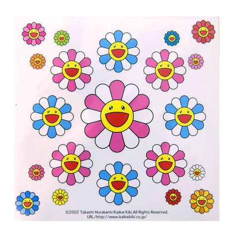 Takashi Murakami Flower Stickers I