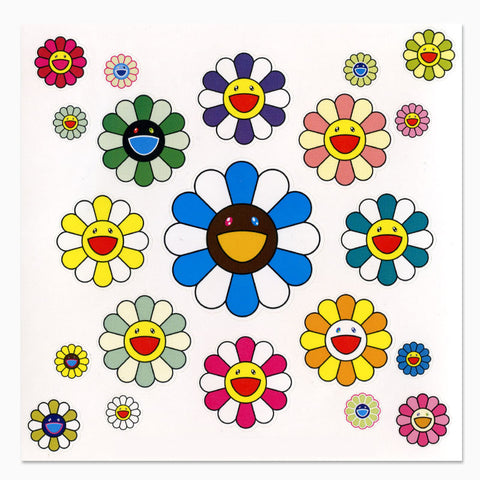 Takashi Murakami Flower Stickers II