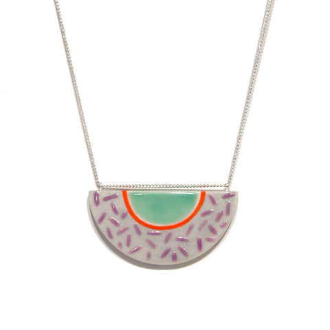 Julie Moon Half Moon Necklace