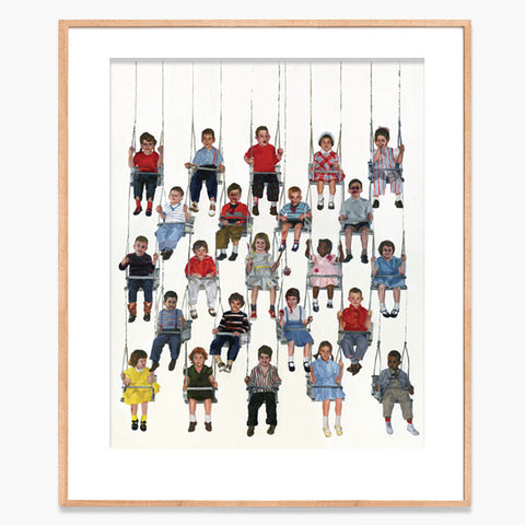 Team Macho Swing Kids Archival Print
