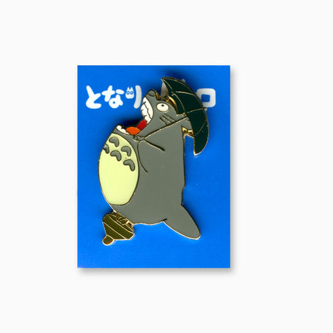Totoro with Umbrella II Enamel Pin