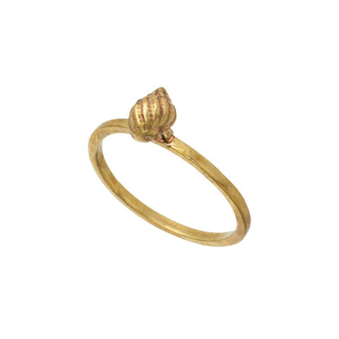 Verameat Shell Ring (Brass)