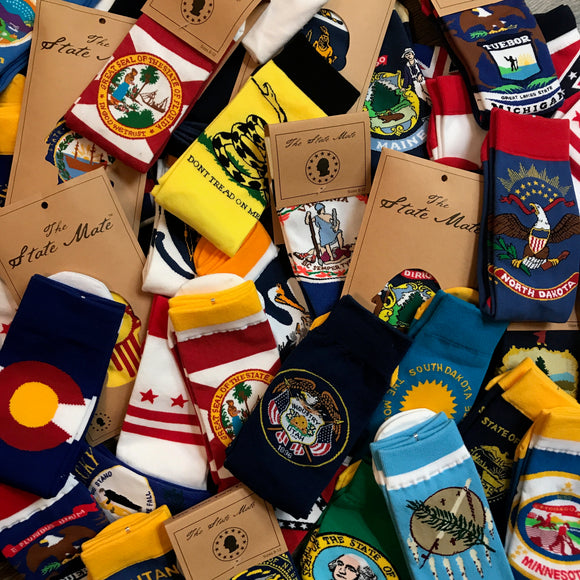 State Flag Socks