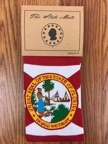 Florida State Flag Dress Socks