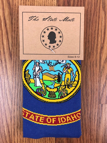 Idaho State Flag Dress Socks