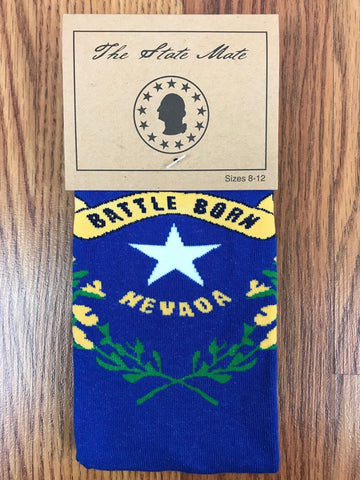 Nevada State Flag Dress Socks