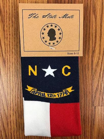 North Carolina State Flag Dress Socks