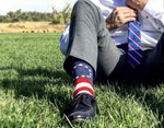 Betsy Ross 13 Stars Flag Dress Socks