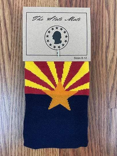 Arizona State Flag Socks