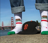 California State Flag Dress Socks