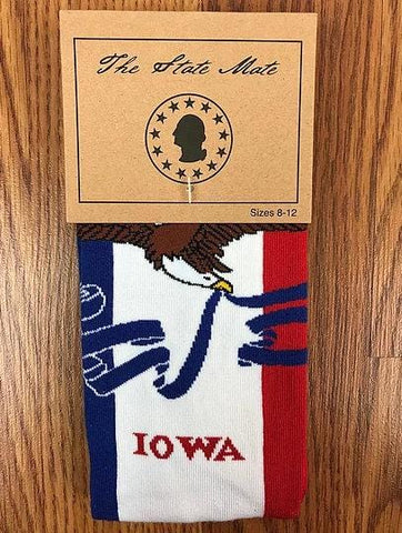 Iowa State Flag Dress Socks