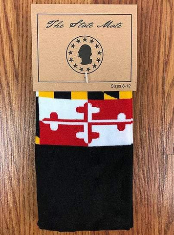 Maryland State Flag Dress Socks