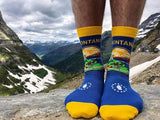 Montana State Flag Dress Socks