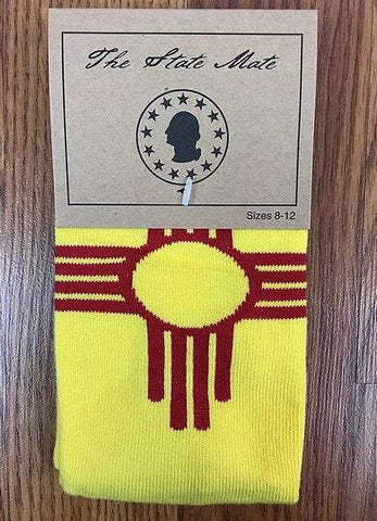 New Mexico State Flag Dress Socks