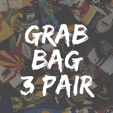 GRAB BAG - 3 PAIR