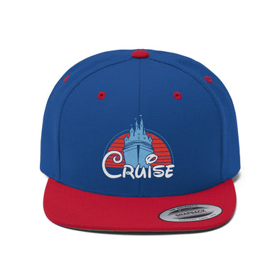 Castle Cruise Unisex Flat Bill Hat