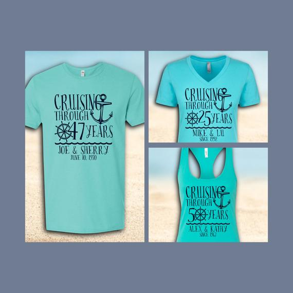 Couples Cruise Shirts (CUSTOM)