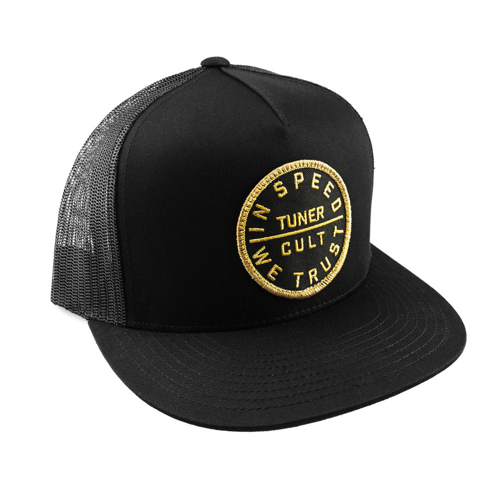 "Trucker Cap ""Golden"" Black"
