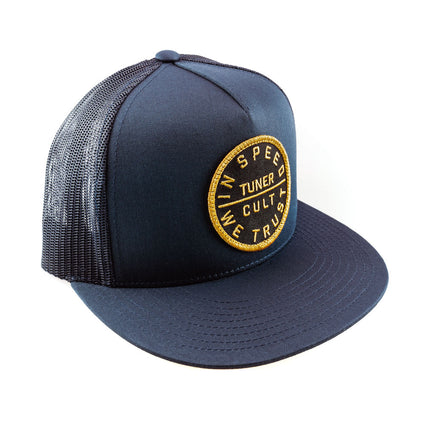 "Trucker Cap ""Golden"" Navy"