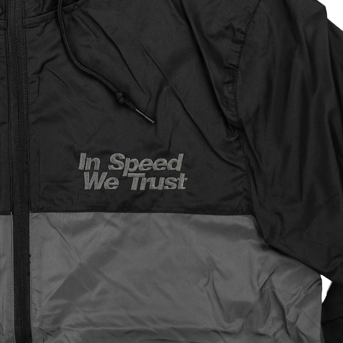 """Windbreaker"" In Speed We Trust"