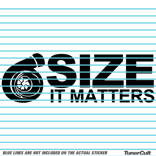 Size matters sticker size matters sticker