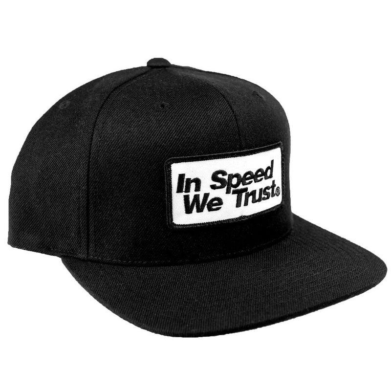"Snap Back ""Tech"" Black"
