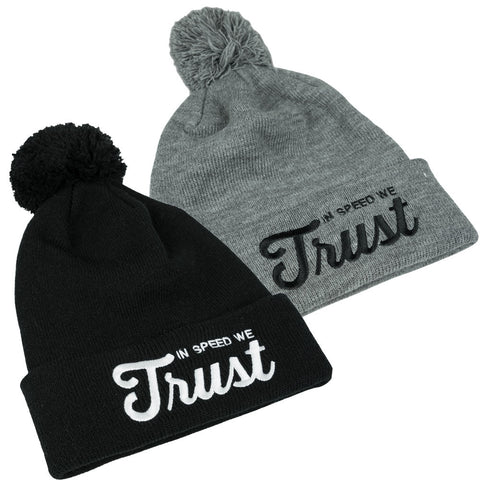 "Beanie ""In Speed We Trust"""