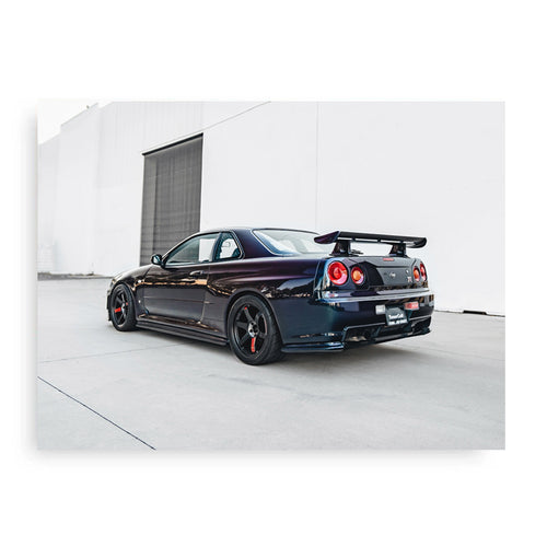 SKYLINE GT-R POSTER - BOOTY