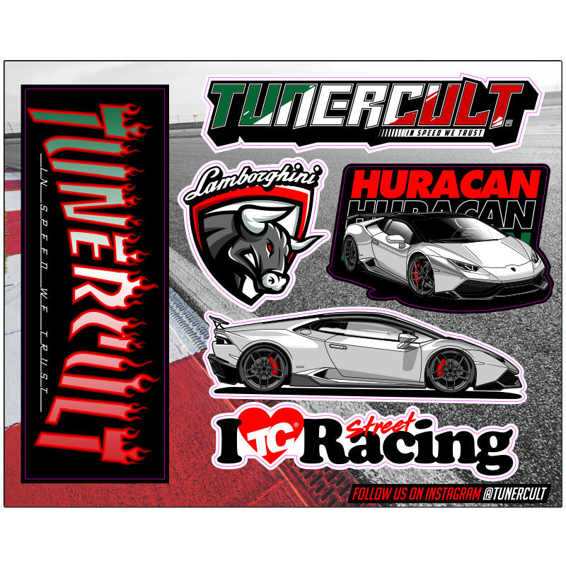 (Sticker Pack) 805HP Huracan