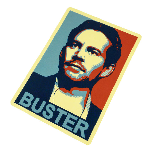 Sticker obey the buster tuner cult