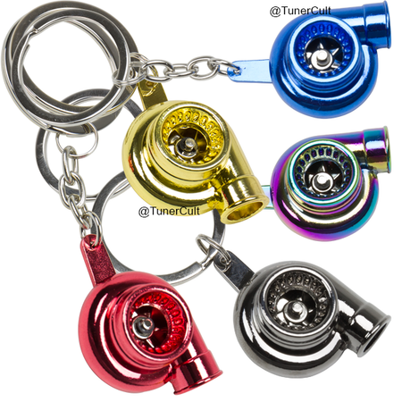 Turbo Keychain Boosted Key Turbo Key Ring For Jdm