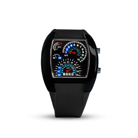 In Speed We Trust - LED Watch