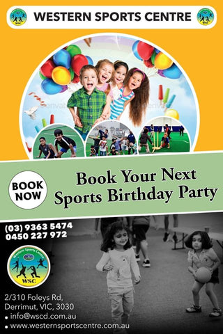 Birthday Party Sports Theme