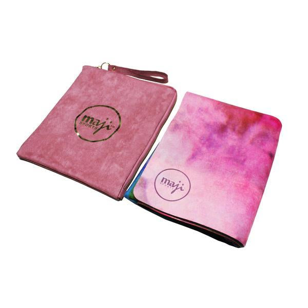 Suede & Natural Rubber Travel Yoga Mat