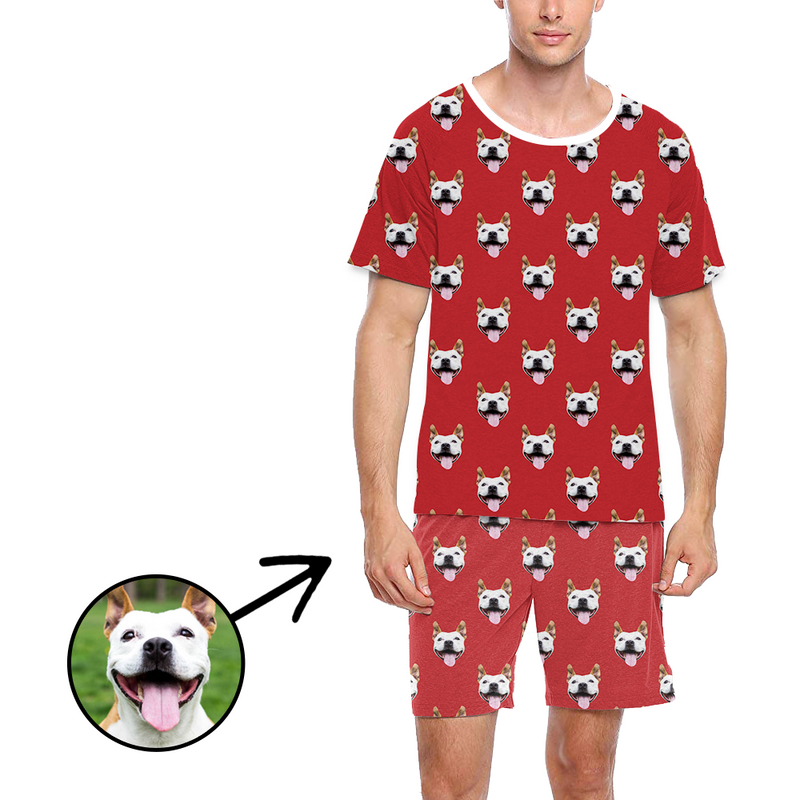 Custom Photo Pajamas For Men I Love My Girlfriend