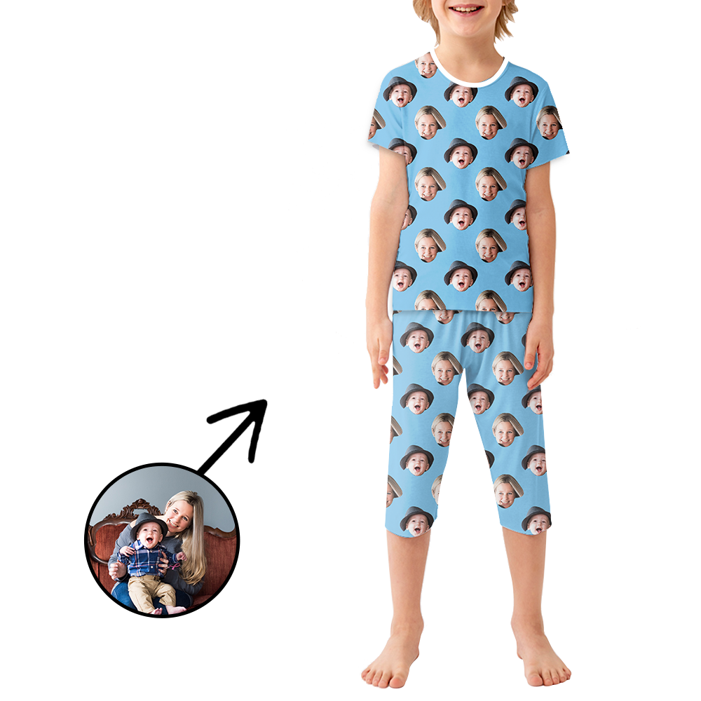 Custom Photo Pajamas For Kids I Love My Dad