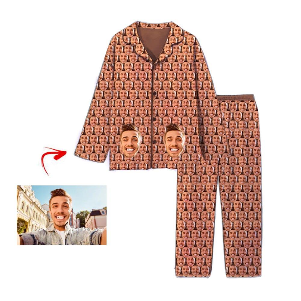 Custom Photo Pajamas Mash Funny Face