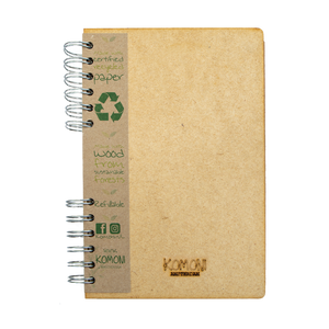 Sustainable 2021-2022 school agenda - recycled paper - Flowers