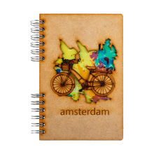 Load image into Gallery viewer, Sustainable 2021-2022 school agenda - recycled paper - Amsterdam Bike