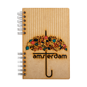 Sustainable journal - Recycled paper - Amsterdam Umbrella