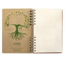 Load image into Gallery viewer, Sustainable journal - Recipebook - Recycled paper - Ingredients