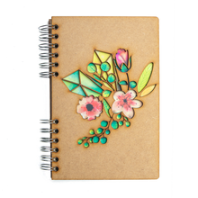 Load image into Gallery viewer, Sustainable 2021-2022 school agenda - recycled paper - Flowers