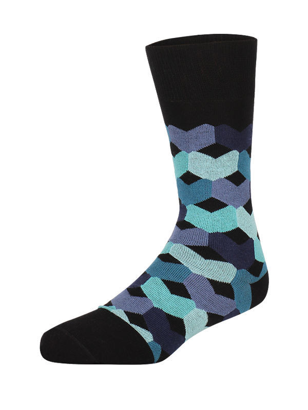 Sock Blue Tulip