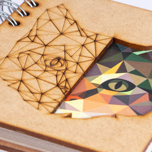 Sustainable journal - Recycled paper - Cat