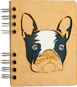 Sustainable journal - Recycled paper - Dog