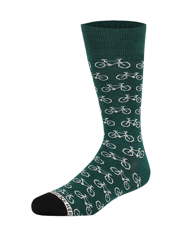 Sock Bike Green