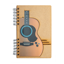 Load image into Gallery viewer, Sustainable journal - Recycled paper - Guitar